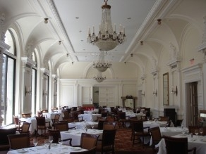 Olympic Club SF Dining Room